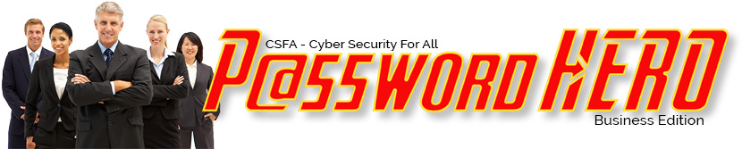 Password Hero Business Edition, passwords generator